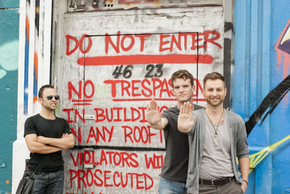 Hey! No trespassing