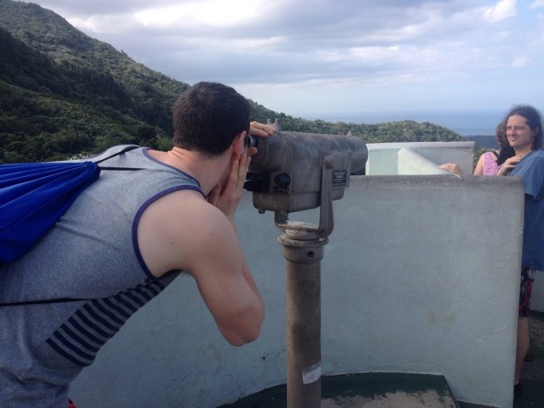 The views were amazing