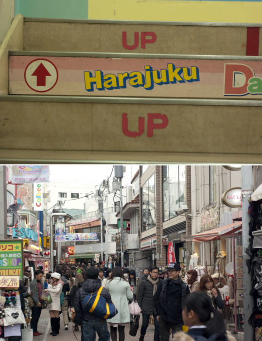 Harajuku-ing it up