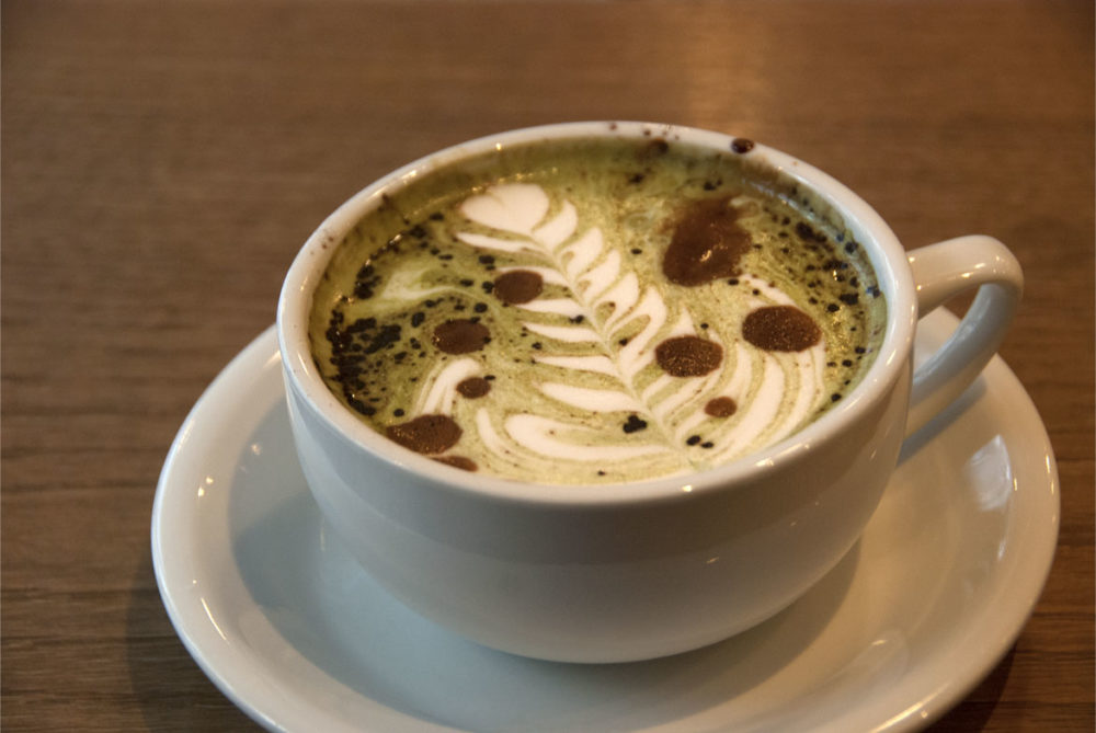 Military Lattes - Matcha, White Chocolate + Espresso