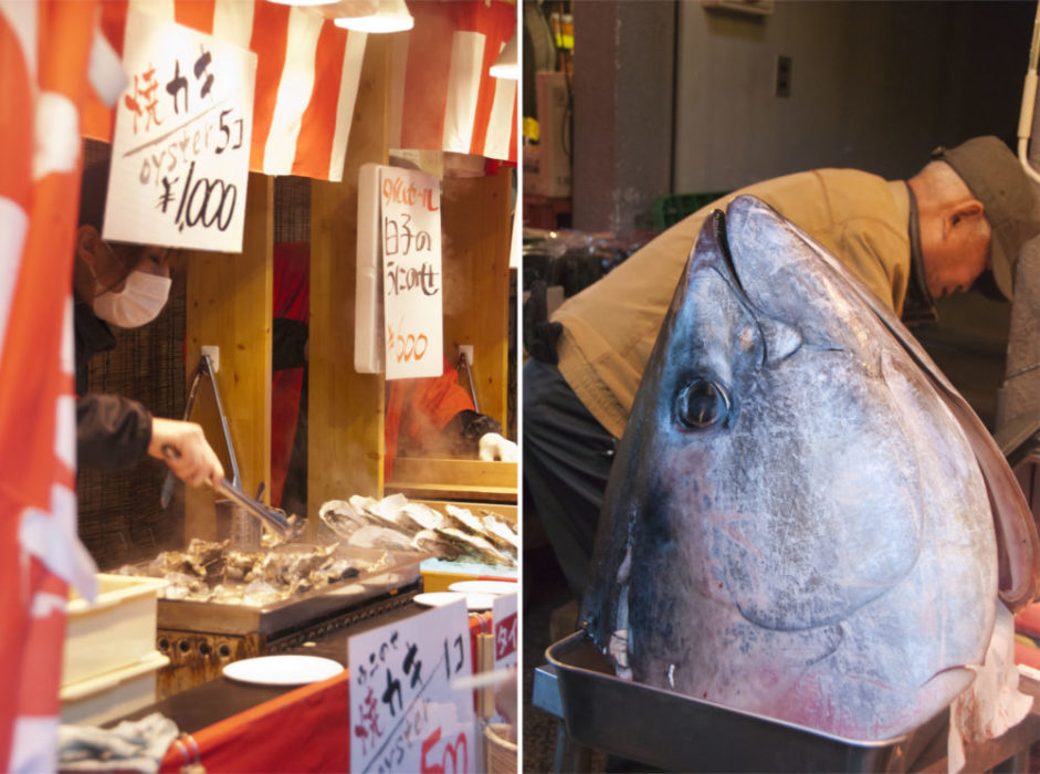 Said hi to Big Tuna and some street side scallops