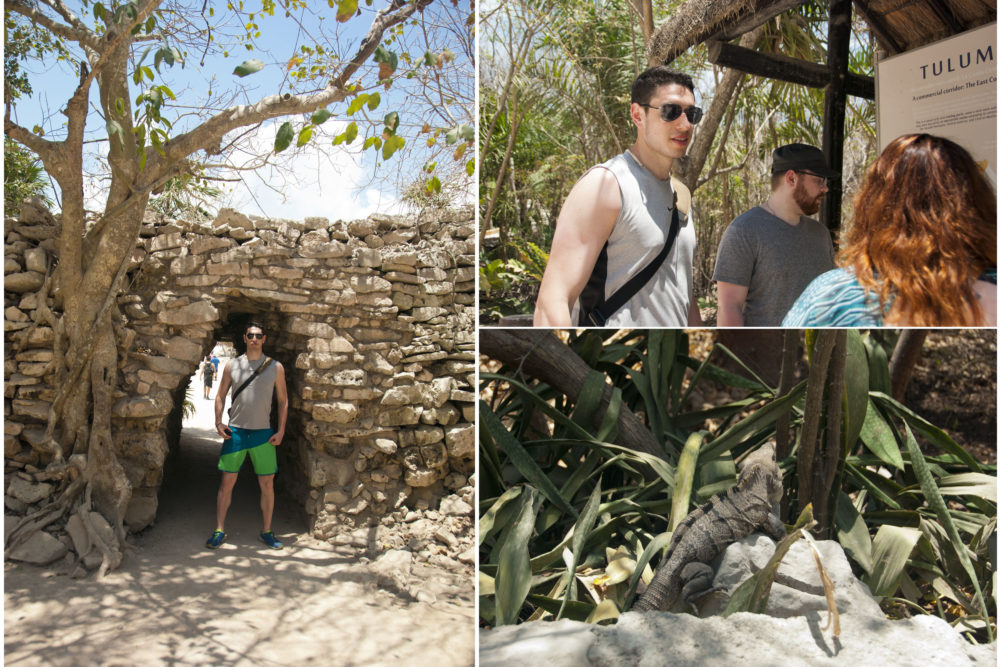 Ben was too big for the ruins, Mayan times are hard times