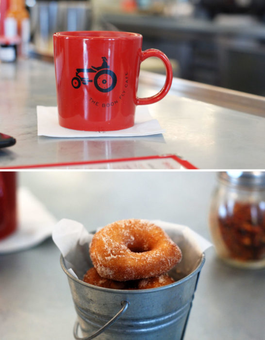 Donuts and a cup of joe