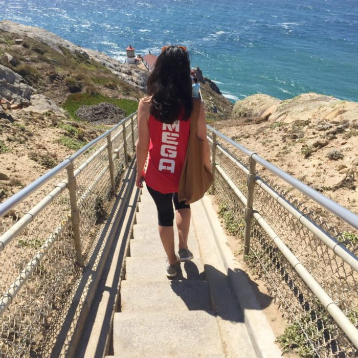 Just taking a stroll to the end of the world...in this Nerf tank top