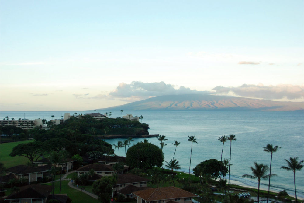 Good morning Maui!