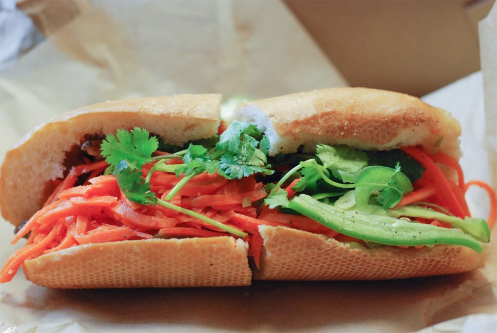 A good old reliable banh mi