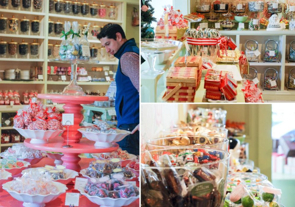 A look inside Miette. Candy Galore.