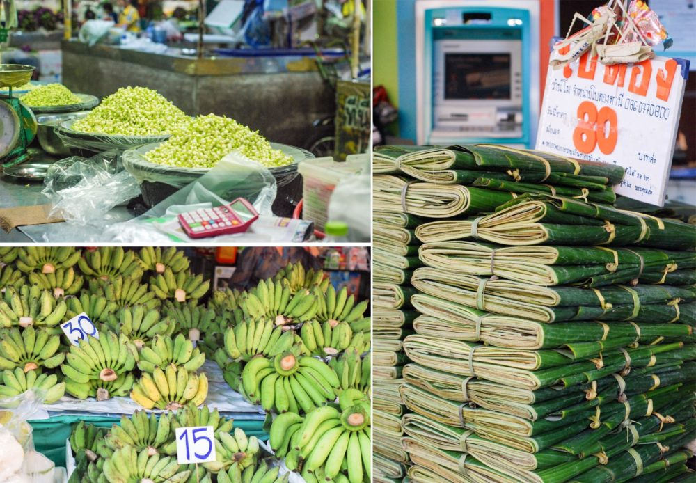 I also wanted these banana leaves but couldn't justify that either