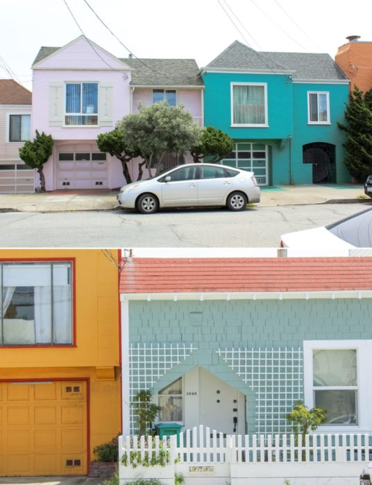 and most colorful beachy houses