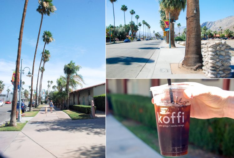 Good morning Palm Springs! Good morning Koffi cafe!