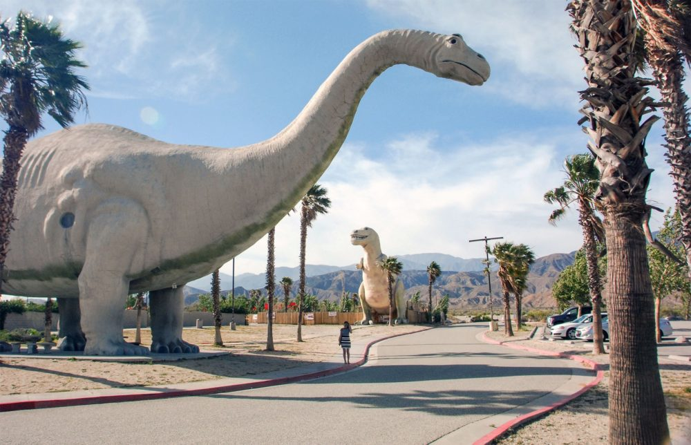 A quick but joyful trip in Dinosaur World (I'm just calling it that, it has no name) Thanks Cabazon Dinosaurs for the fun time!