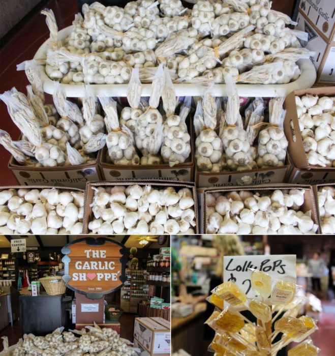 Welcome to the Garlic Shoppe...