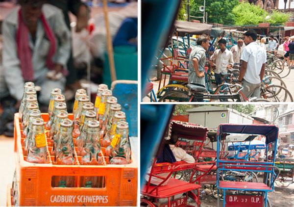 Time to rickshaw