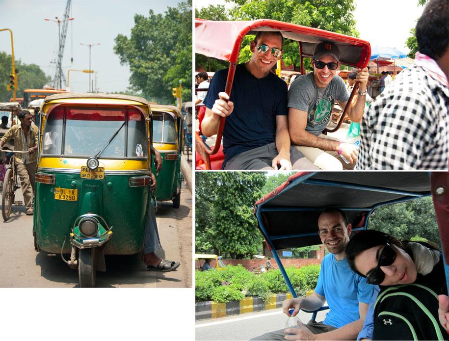 Rickshaws! [bottom picture via Brian Cronin]