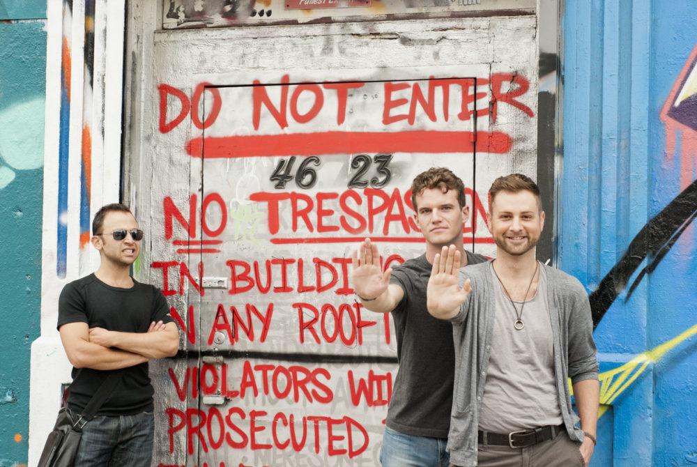 Hey! No trespassing