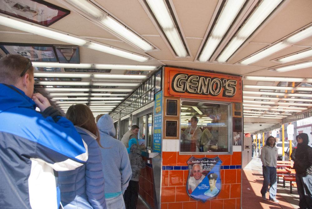 Geno's!