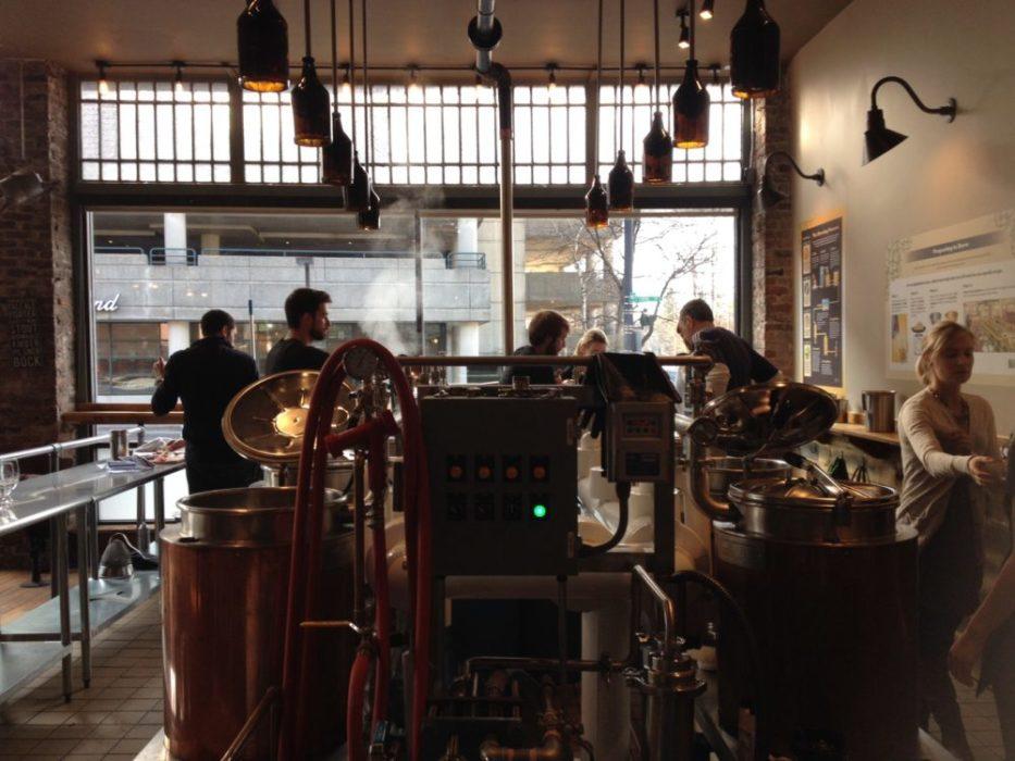 Brewing in Boston