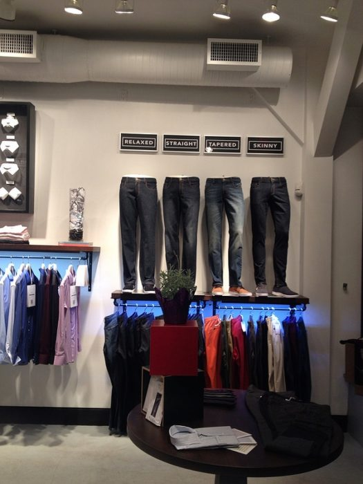 A view of the showroom