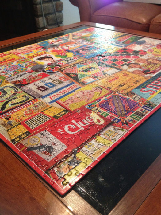 Puzzles are hard