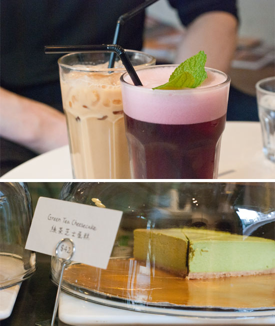 Nothing beats some delicious iced coffees and treats