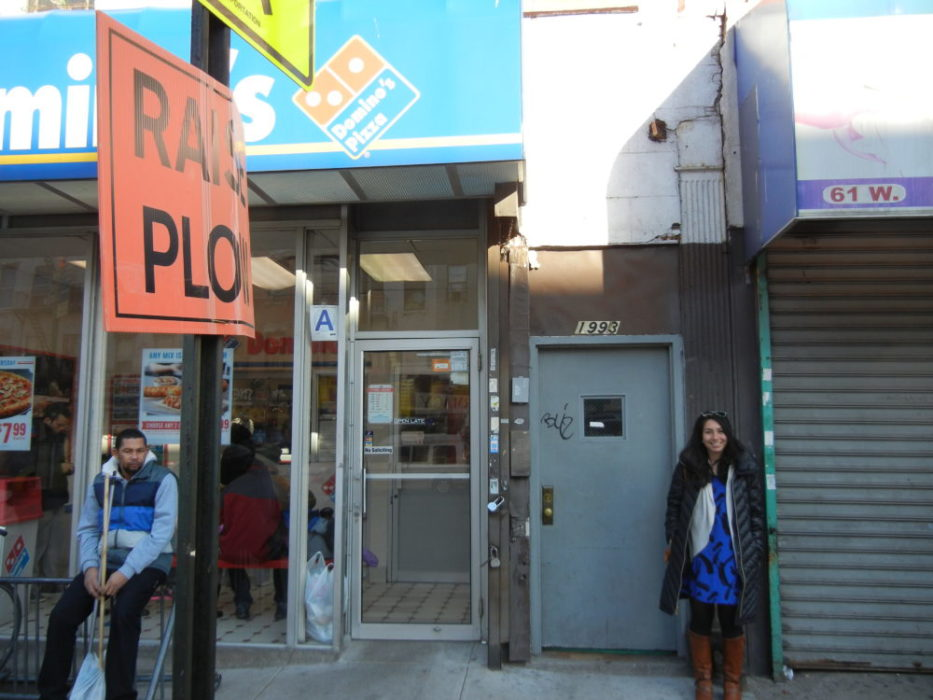 East Harlem, the days of living above a Domino's will be fondly remembered