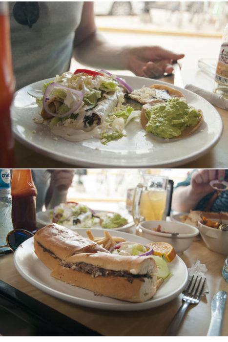 Finally got a torta with of course more Guacamole
