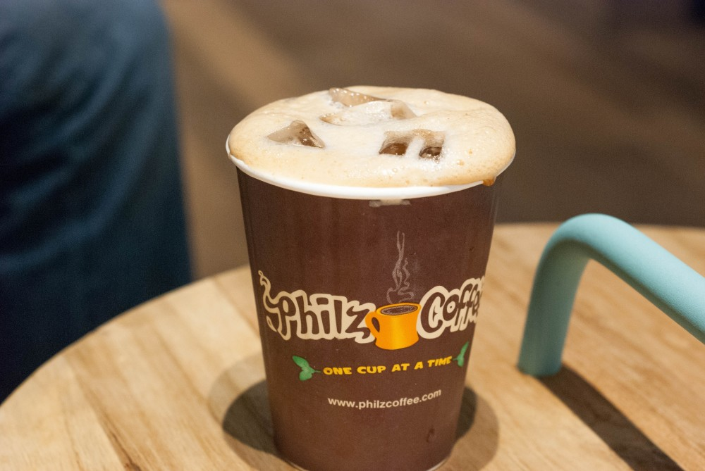 Ginger Snap Iced Coffee