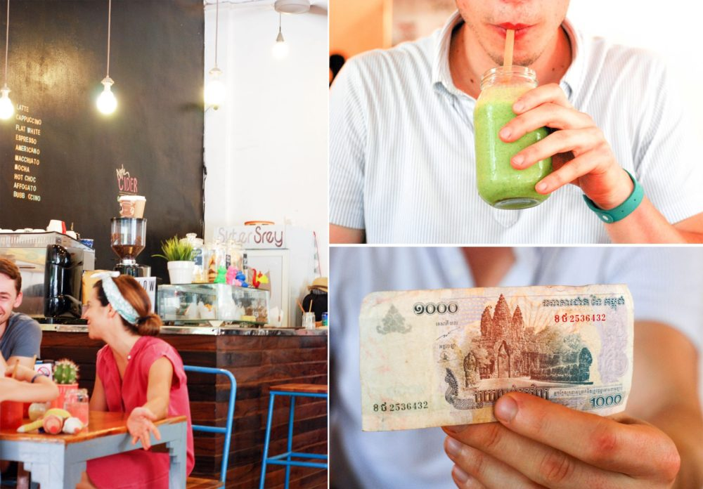 Sister Srey Smoothies...recognize the picture on this money?