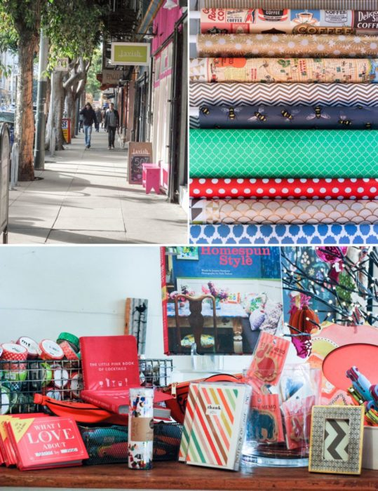 Lavish, store filled with cute paper goods and gifts.