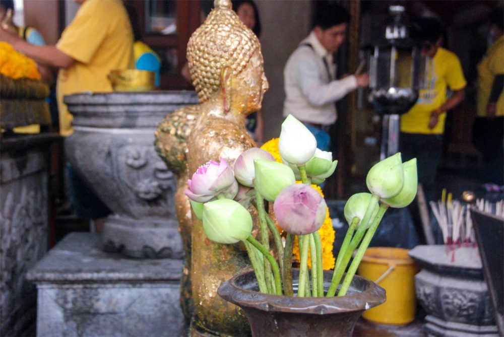 Firs thing you see coming into Wat Pho