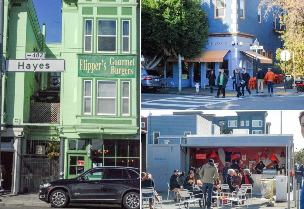 A quick stroll through the heart of Hayes Valley, ritual coffee and La Boulangerie