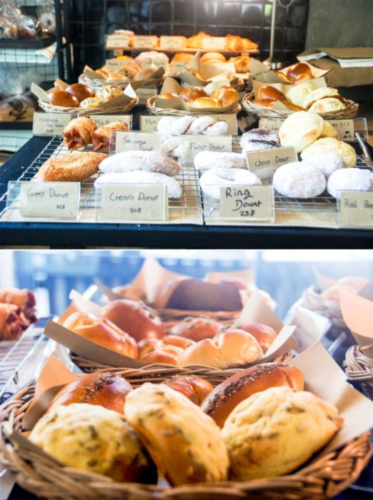 Or all these pastries, the end.
