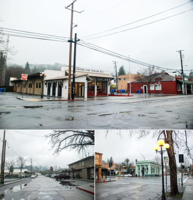 Good morning Calistoga! You were foggy and rainy but not unlike our isle of San Francisco