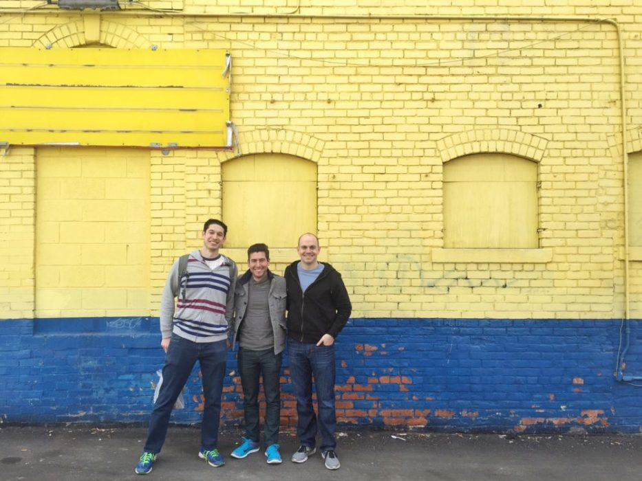 Before we left I made them take this picture, walls so many walls.