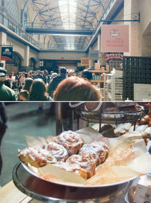 Said Cinnamon Buns in the Ferry Building, yum!