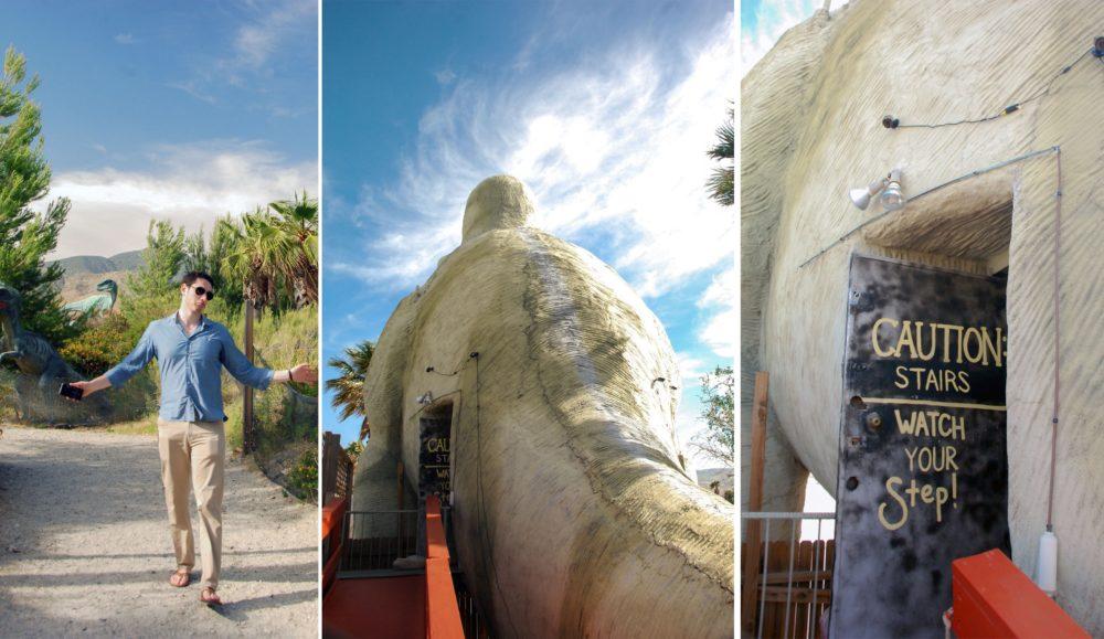 Then we went inside T-Rex