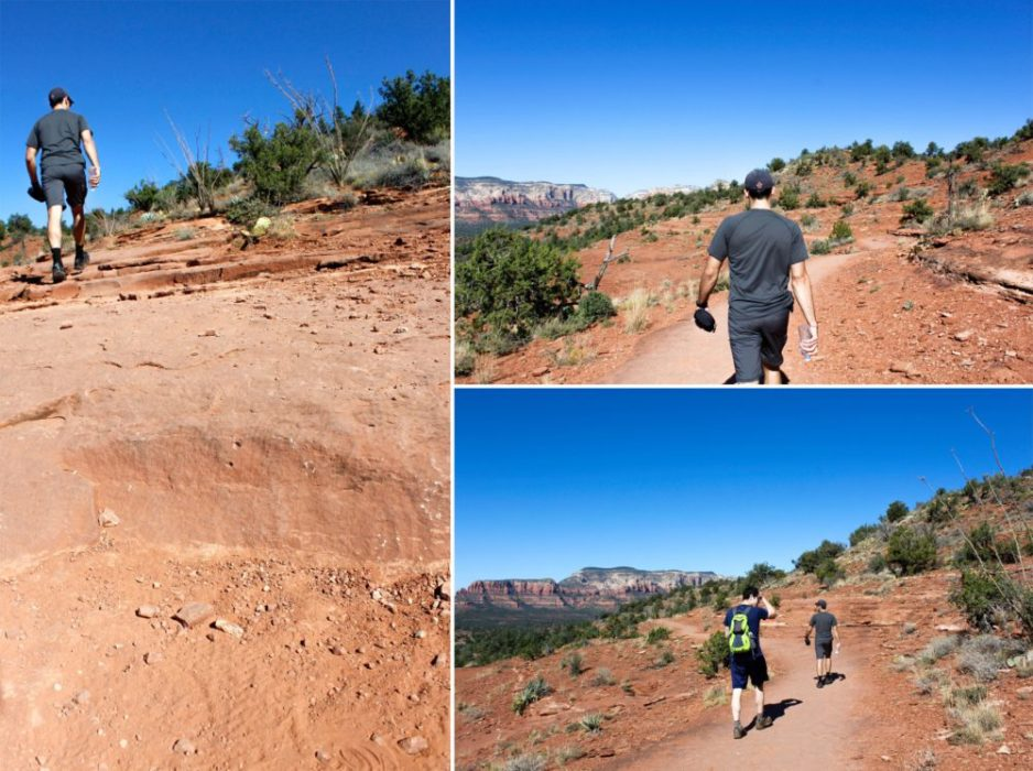 What we forgot to look up was the temperature in Oct. in Sedona. IT was hot...